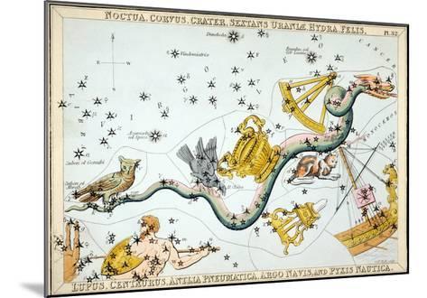 Constellation: Hydra-Sidney Hall-Mounted Giclee Print