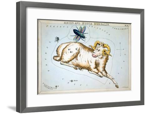 Constellation: Aries-Sidney Hall-Framed Art Print
