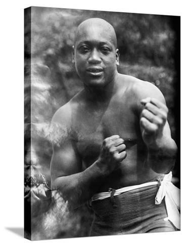 Jack Johnson (1878-1946)--Stretched Canvas Print
