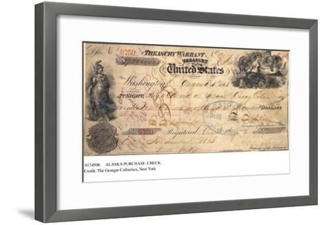 Alaska Purchase: Check--Framed Art Print