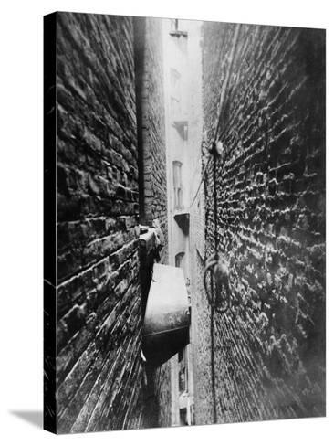 New York: Tenement, C1890-Jacob August Riis-Stretched Canvas Print