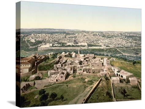 Jerusalem, C1900--Stretched Canvas Print