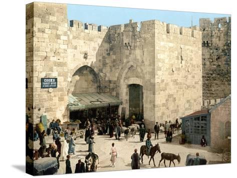 Jerusalem: Jaffa Gate--Stretched Canvas Print