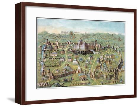 Ancient Jerusalem--Framed Art Print