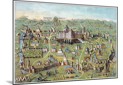 Ancient Jerusalem--Mounted Giclee Print