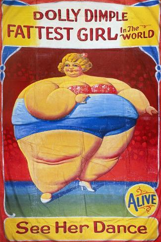 Sideshow Poster, C1949-Nieman Eisman-Stretched Canvas Print