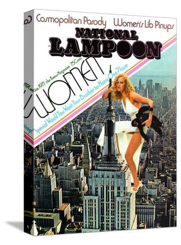 National Lampoon, January 1971 - Cosmopolitan Parody--Stretched Canvas Print