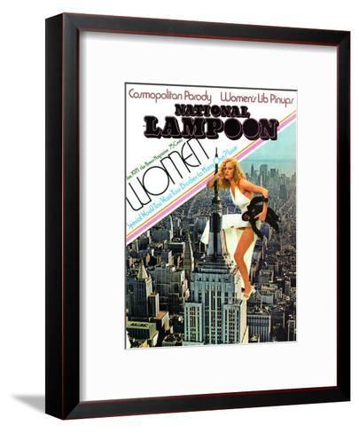 National Lampoon, January 1971 - Cosmopolitan Parody--Framed Art Print