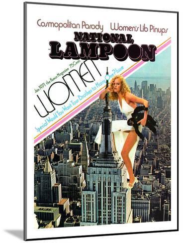 National Lampoon, January 1971 - Cosmopolitan Parody--Mounted Art Print
