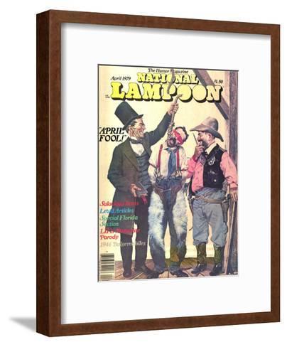 National Lampoon, April 1979 - April Fool--Framed Art Print