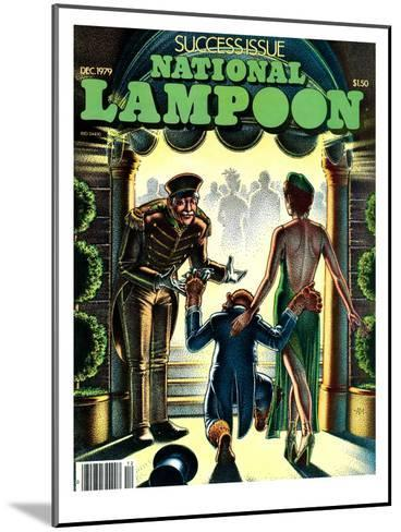 National Lampoon, December 1979 - Success Issue, Monkey with a Hot Date--Mounted Art Print