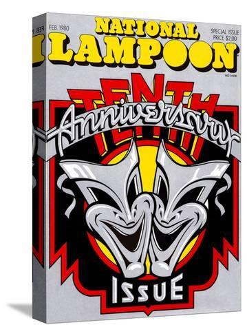 National Lampoon, February 1980 - 10th Anniversary Issue--Stretched Canvas Print