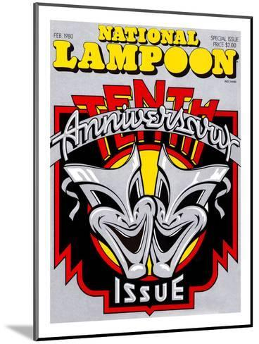 National Lampoon, February 1980 - 10th Anniversary Issue--Mounted Art Print