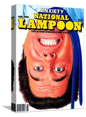 National Lampoon, August 1980 - Anxiety--Stretched Canvas Print