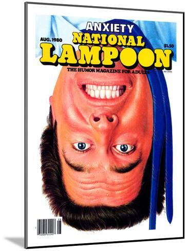 National Lampoon, August 1980 - Anxiety--Mounted Art Print