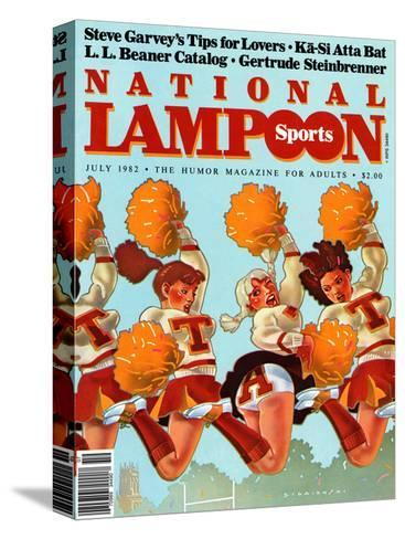 National Lampoon, July 1982 - Revealing Sports--Stretched Canvas Print