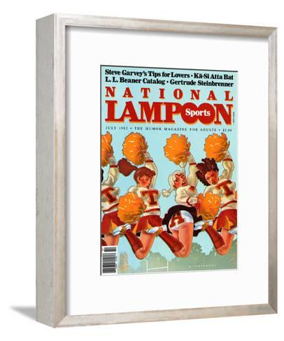 National Lampoon, July 1982 - Revealing Sports--Framed Art Print
