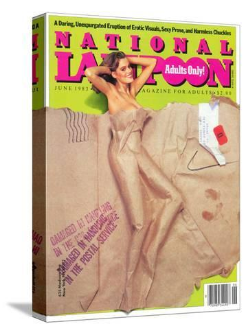 National Lampoon, May 1983 - Packaged for Adults Only--Stretched Canvas Print