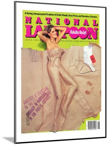 National Lampoon, May 1983 - Packaged for Adults Only--Mounted Art Print