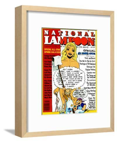 National Lampoon, February 1984 - Special All-Comic Issue--Framed Art Print