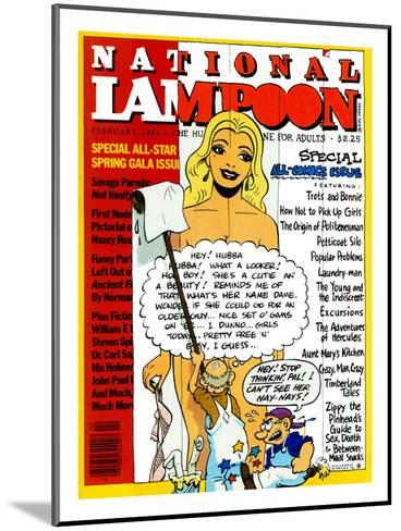 National Lampoon, February 1984 - Special All-Comic Issue--Mounted Art Print