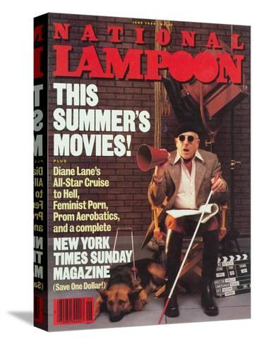 National Lampoon, June 1984 - This Summer's Movies!--Stretched Canvas Print