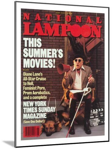 National Lampoon, June 1984 - This Summer's Movies!--Mounted Art Print