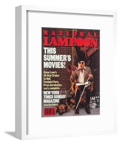 National Lampoon, June 1984 - This Summer's Movies!--Framed Art Print