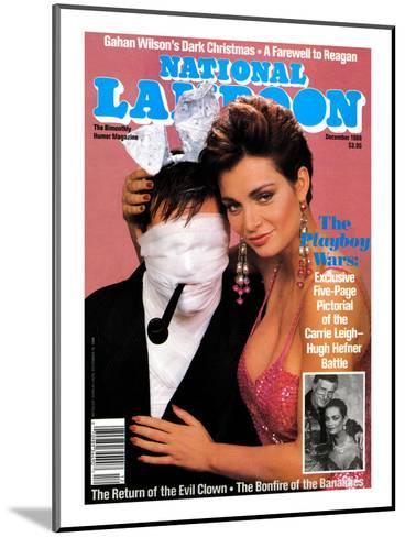 National Lampoon, December 1988 - The Playboy Wars--Mounted Art Print