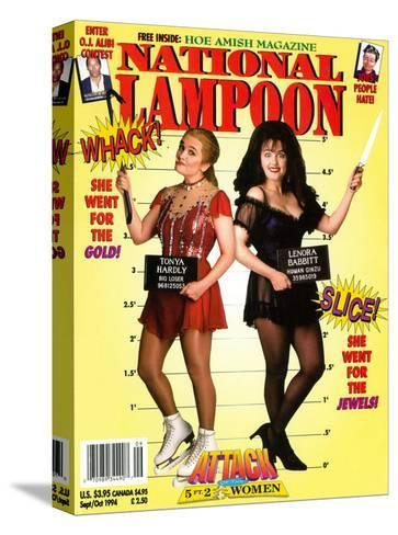 National Lampoon, September and October 1994 - Attack of the 5 ft 2 Women--Stretched Canvas Print