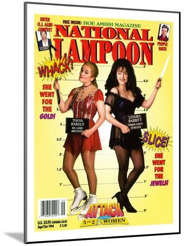 National Lampoon, September and October 1994 - Attack of the 5 ft 2 Women--Mounted Art Print