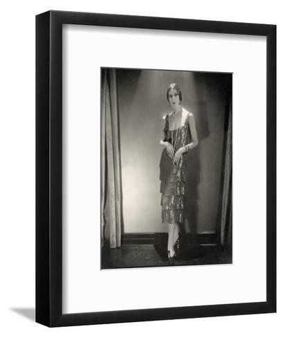 Vogue - November 1925-Edward Steichen-Framed Art Print