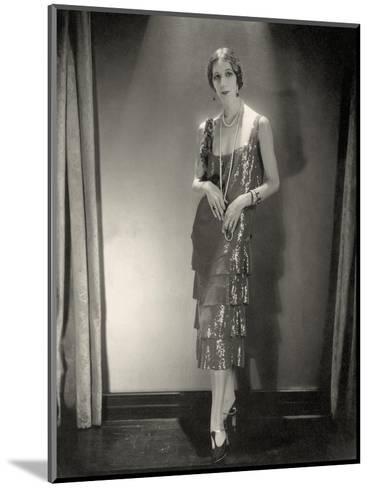 Vogue - November 1925-Edward Steichen-Mounted Premium Photographic Print