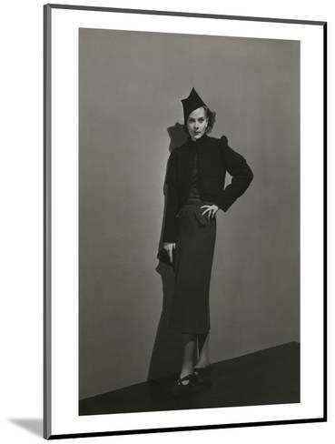 Vogue - December 1936 - Princess Nathalie Paley in Lelong Dress-Andr? Durst-Mounted Premium Photographic Print