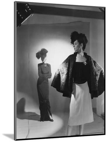 Vogue - October 1944 - Fashions from Bergdorf Goodman-Cecil Beaton-Mounted Premium Photographic Print