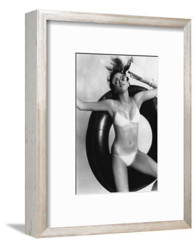 Vogue - May 1977-Albert Watson-Framed Art Print