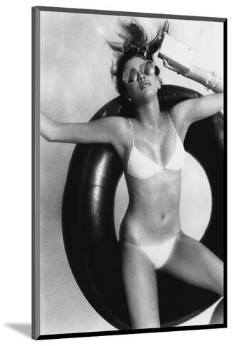 Vogue - May 1977-Albert Watson-Mounted Premium Photographic Print