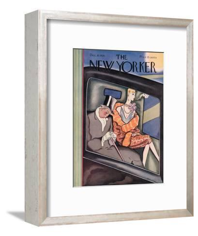 The New Yorker Cover - December 18, 1926-Ottmar Gaul-Framed Art Print
