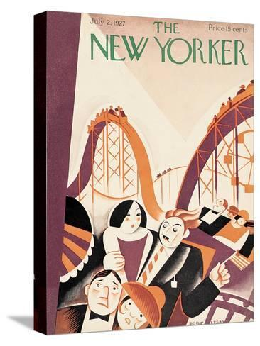 The New Yorker Cover - July 2, 1927-Victor Bobritsky-Stretched Canvas Print