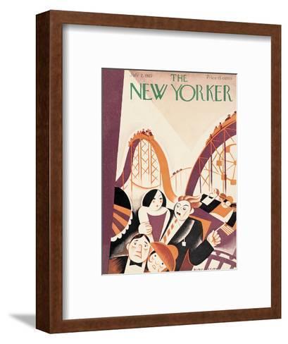 The New Yorker Cover - July 2, 1927-Victor Bobritsky-Framed Art Print