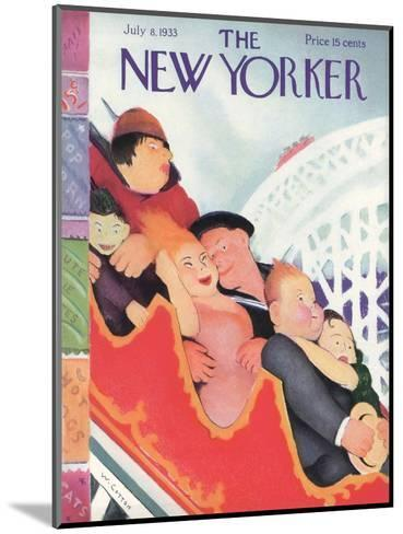 The New Yorker Cover - July 8, 1933-William Cotton-Mounted Premium Giclee Print