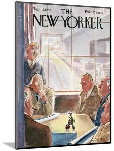 The New Yorker Cover - September 15, 1945-Garrett Price-Mounted Premium Giclee Print