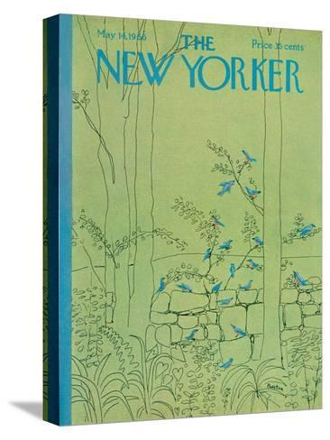 The New Yorker Cover - May 14, 1966-David Preston-Stretched Canvas Print