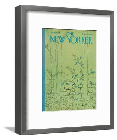 The New Yorker Cover - May 14, 1966-David Preston-Framed Art Print