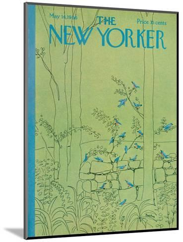The New Yorker Cover - May 14, 1966-David Preston-Mounted Premium Giclee Print