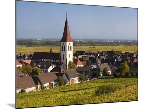 Ammerschwihr, Alsatian Wine Route, Alsace Region, Haut-Rhin, France-Walter Bibikow-Mounted Photographic Print