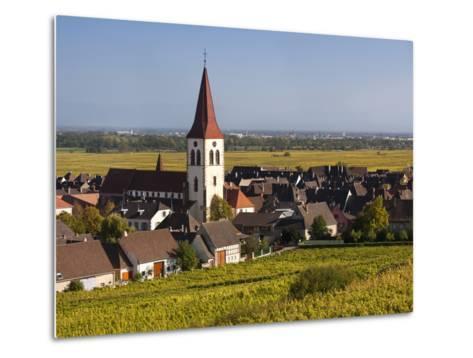Ammerschwihr, Alsatian Wine Route, Alsace Region, Haut-Rhin, France-Walter Bibikow-Metal Print