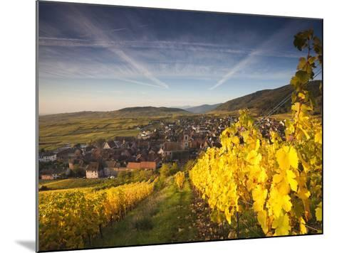 Riquewihr, Alsatian Wine Route, Alsace Region, Haut-Rhin, France-Walter Bibikow-Mounted Photographic Print
