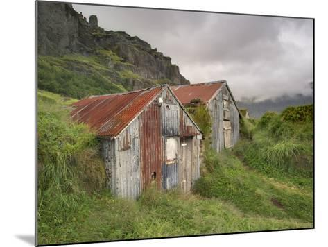 Rural Buildings, Iceland-Adam Jones-Mounted Photographic Print