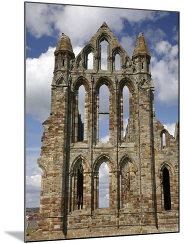 Whitby Abbey Ruins (Built Circa 1220), Whitby, North Yorkshire, England-David Wall-Mounted Photographic Print